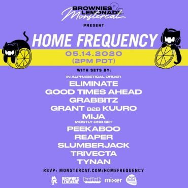 Quaranstreams1 eliminate x monstercat home frequency