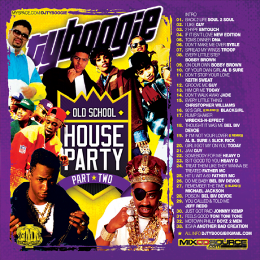 Ericflores137 dj ty boogie old school house party vol 2 2008