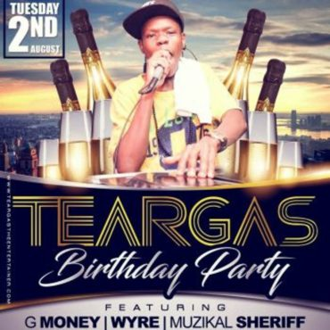 TeargasTheEntertainer teargas 26th b day cd 2
