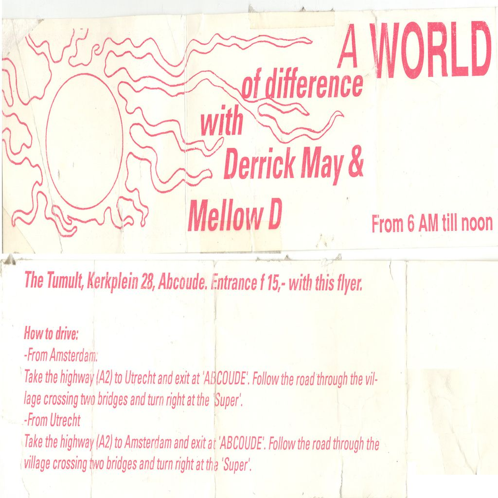 LDJM derrick may at a world of difference tumult abcoude nl 28 february 1993