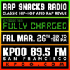 """Rap Snacks Radio, Episode 169: """"Fully Charged"""" (March 26, 2020)"""