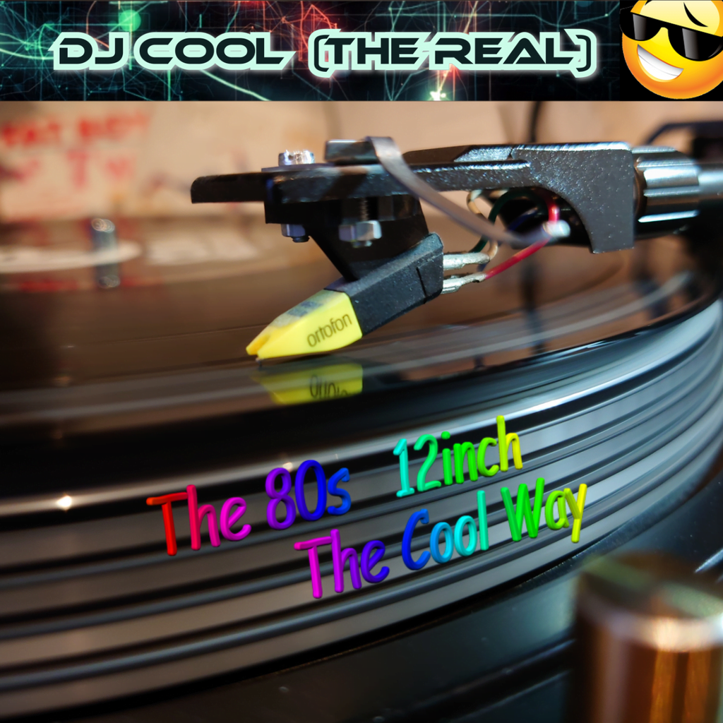 The Real DjCool dj cool the 80s 12inch the cool way
