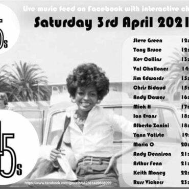 petertenkleij the 45s easter special alldayer saturday 3rd april tony bruce