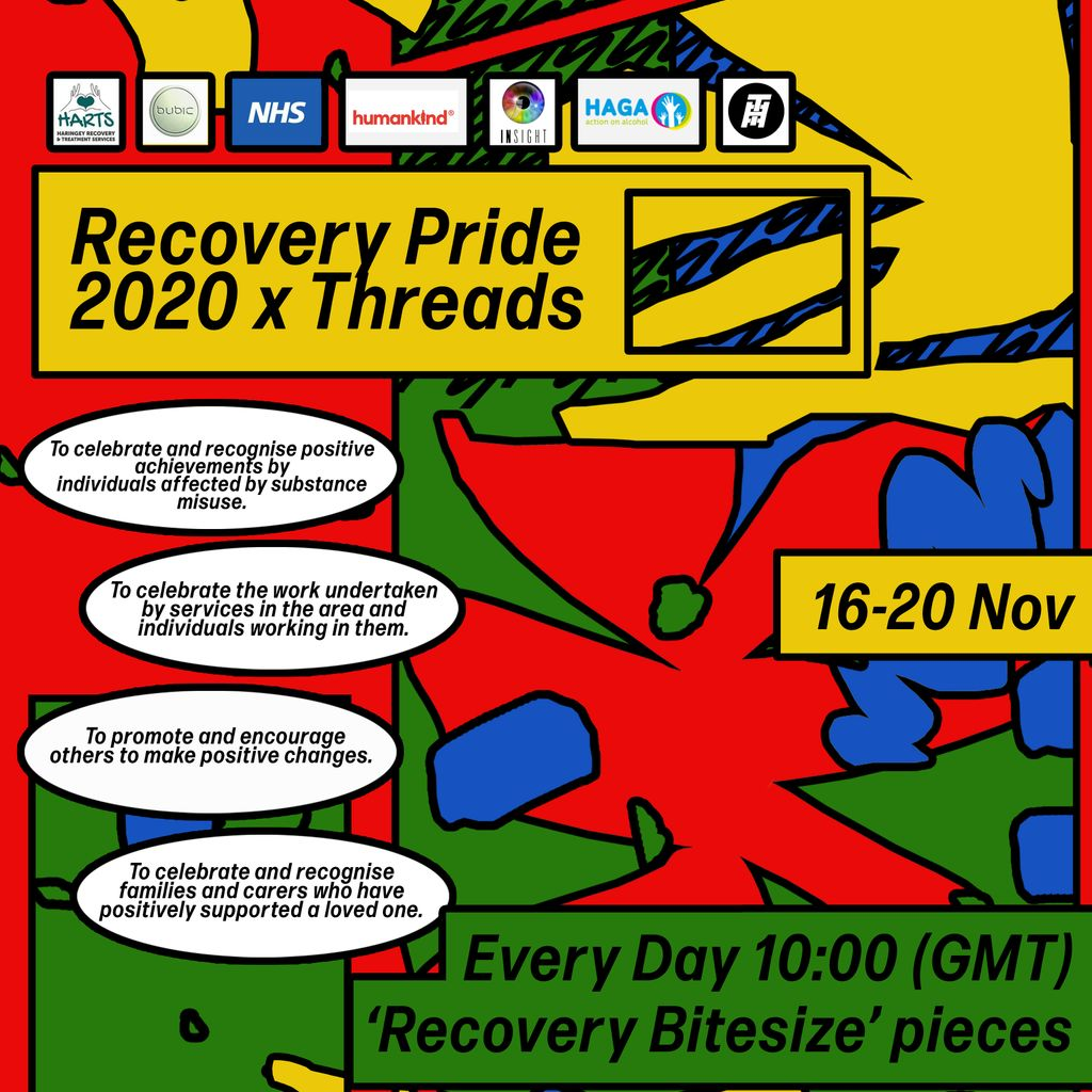 ThreadsRadio recovery pride 2020 x threads in conversation with jonathan and gary service users